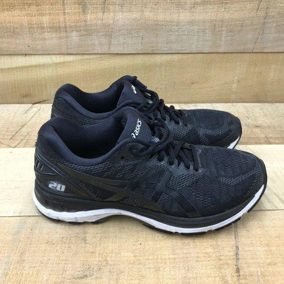 Asics Gel Nimbus 20 Black Running Shoes